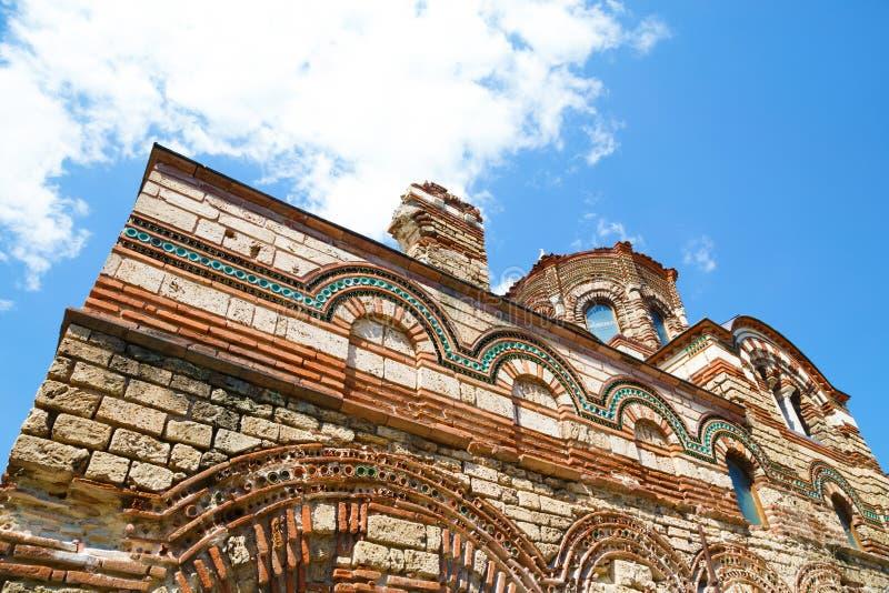 Church of Christ Pantocrator, Nesebar, Bulgaria royalty free stock images