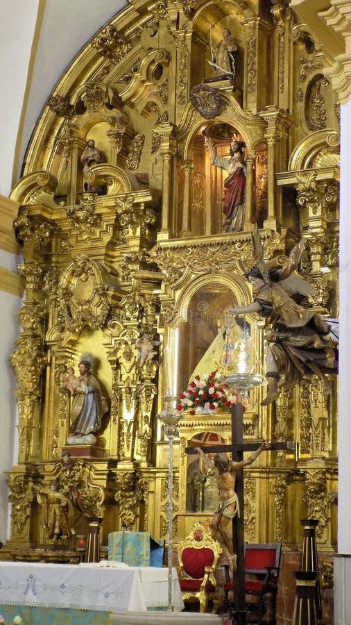-Church convent of Jesus Nazareno-Chiclana. Church convent Jesus-Nazareno-Chiclana de la Frontera-Andalusia stock photo