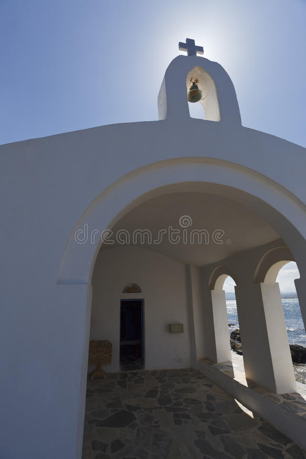 Download Church in Crete island. stock image. Image of architecture - 20413631