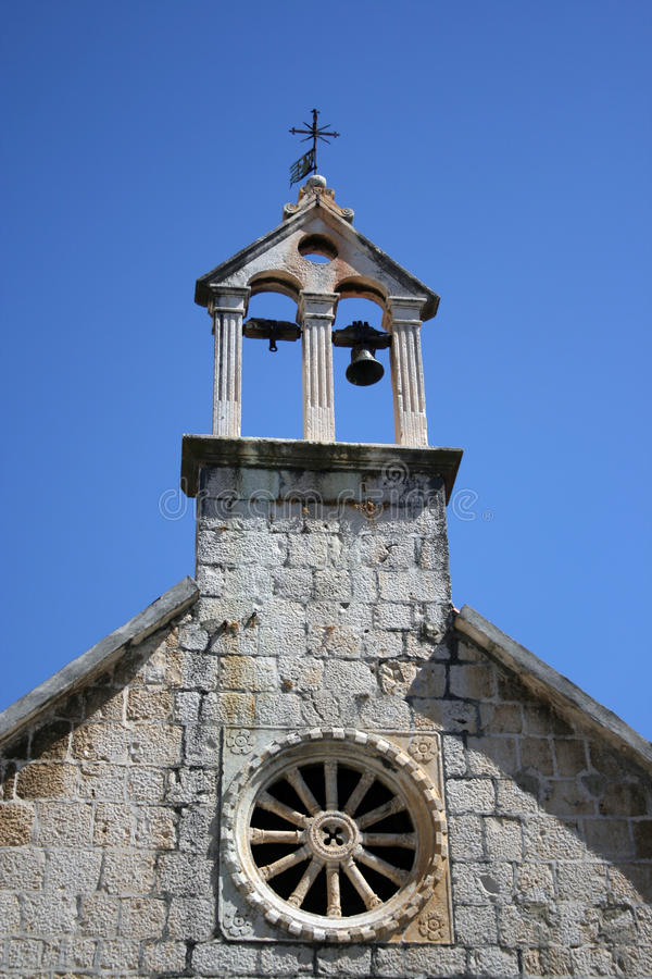 Church in Croatia royalty free stock images
