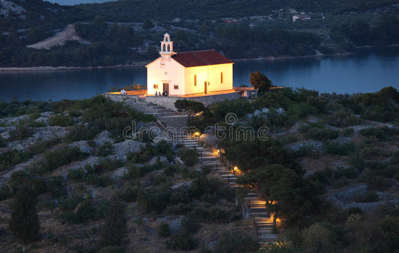 Download Church In Croatian Town Murter Stock Photo - Image: 20467052