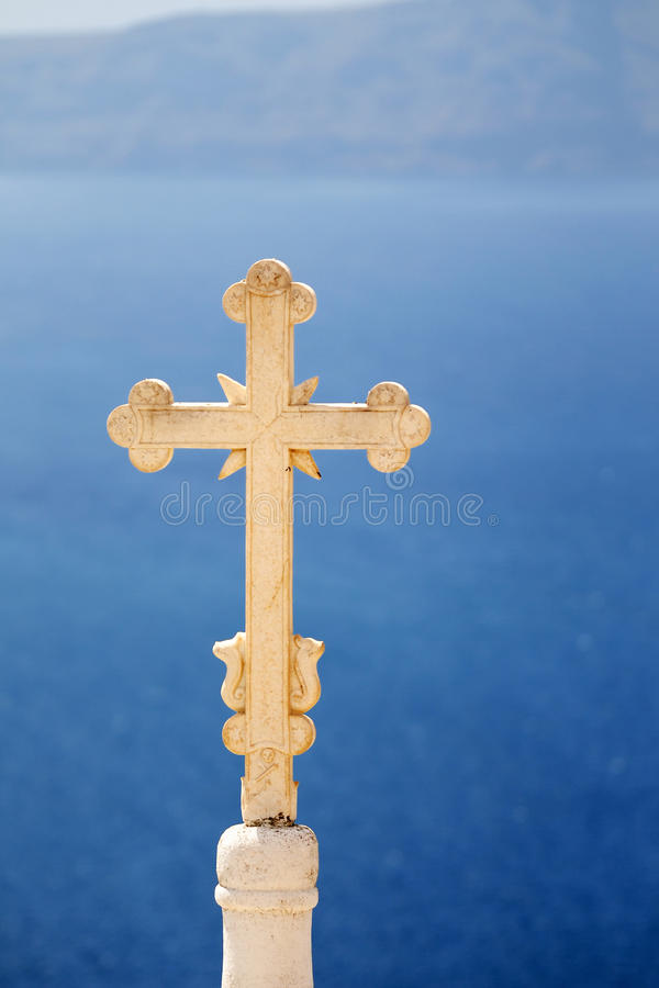 Church Cross stock photo