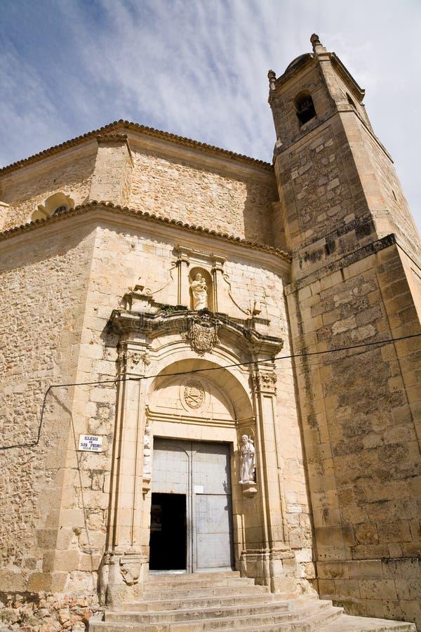 Church, Cuenca stock photography