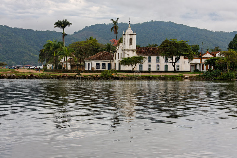 church DAS de dores paraty sra του Ρίο nsa janeiro στοκ εικόνες