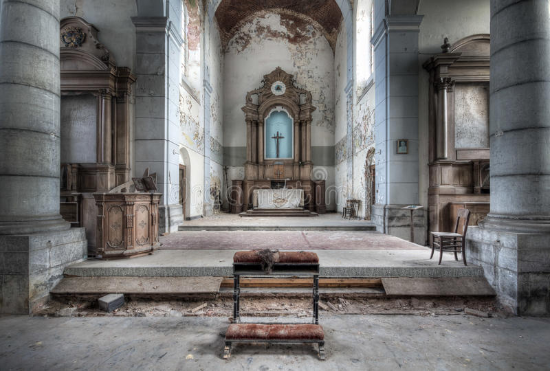 Church of Decay stock images