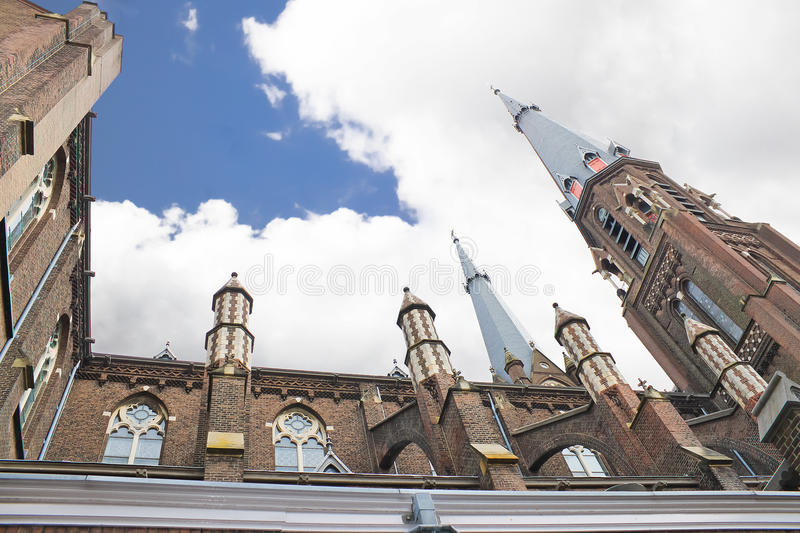 Download The  church in Delft stock image. Image of dutch, architecture - 24512367