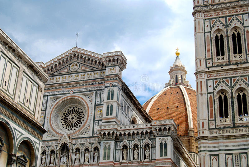 Church Dome Florence Italy royalty free stock images