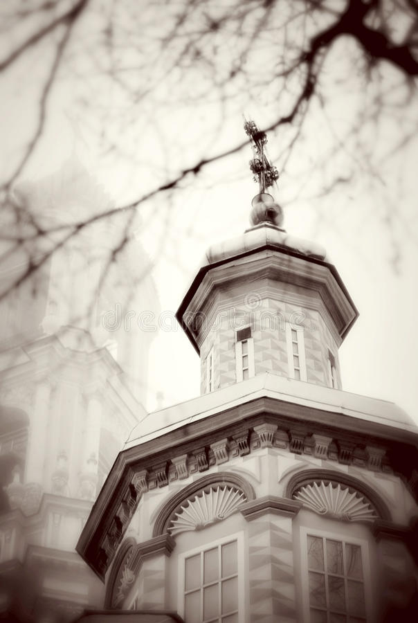Free Church Domes In Trinity Sergius Lavra Stock Images - 30614094
