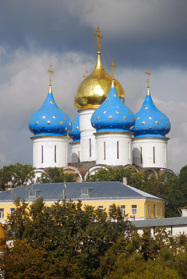 Download Church Domes In Trinity Sergius Lavra Stock Illustration - Image: 26622843