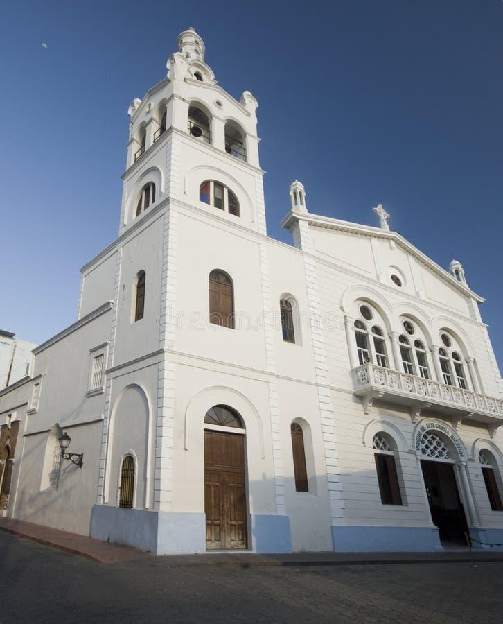 Church dominican republic royalty free stock photos