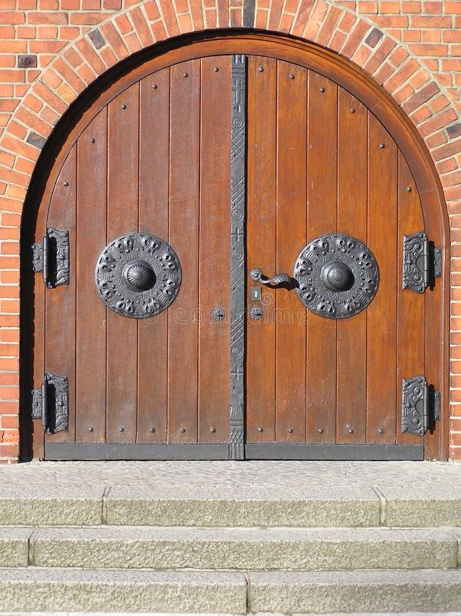 church door stock photography