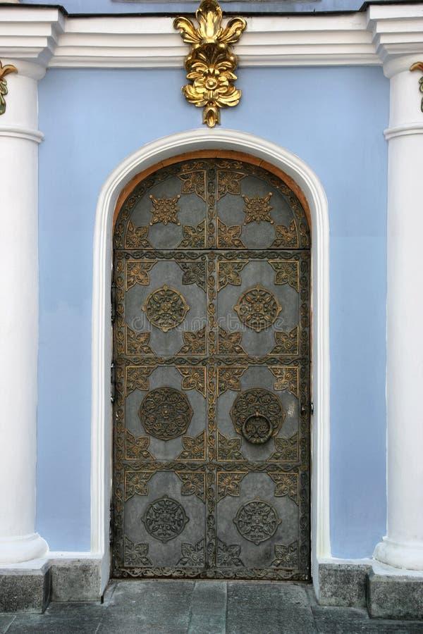 Church door royalty free stock images