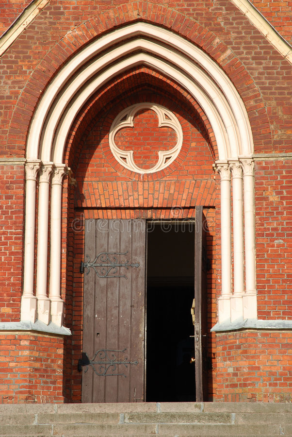 Free Church Door Royalty Free Stock Images - 6586089