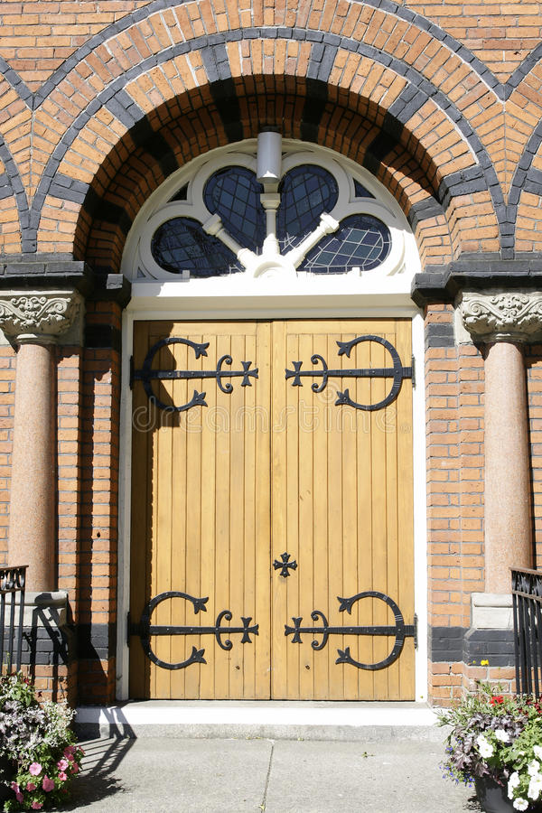 Download Church Door Entrance stock image. Image of doorway, hinged - 15817281