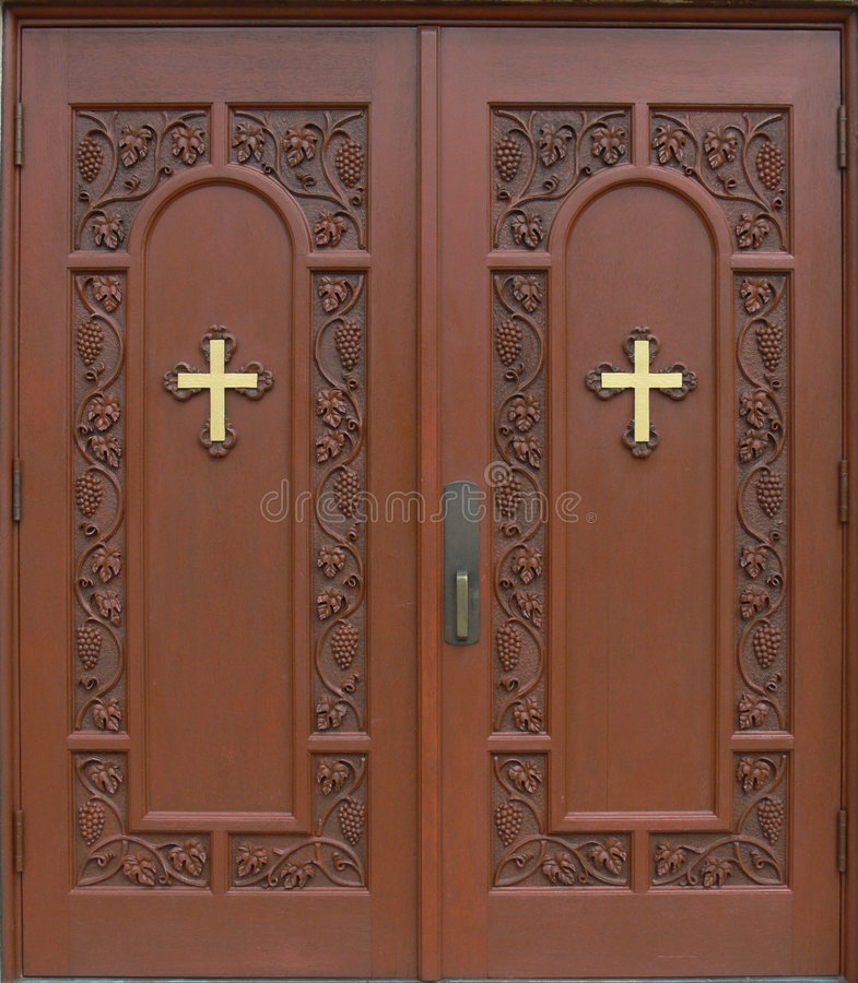 Free Church Doors Royalty Free Stock Photos - 957658