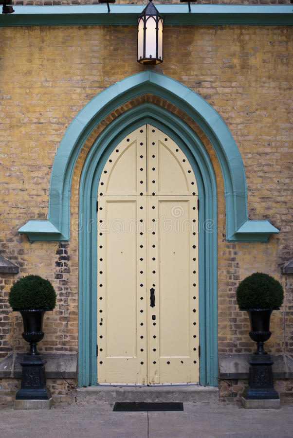 Download Church Doorway stock photo. Image of christianity, outside - 26956164
