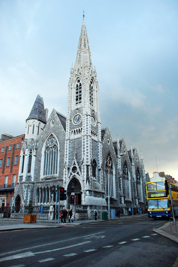 Church in Dublin royalty free stock photos