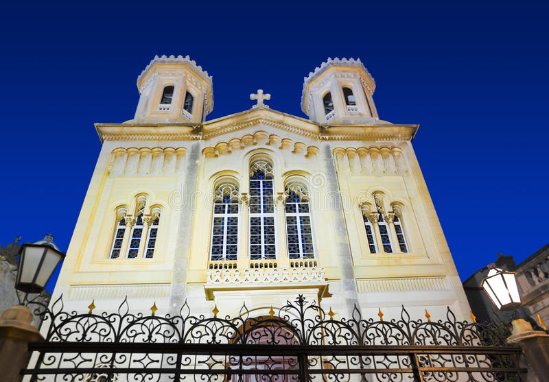 Download Church In Dubrovnik (Croatia) At Night Stock Photo - Image: 19607800