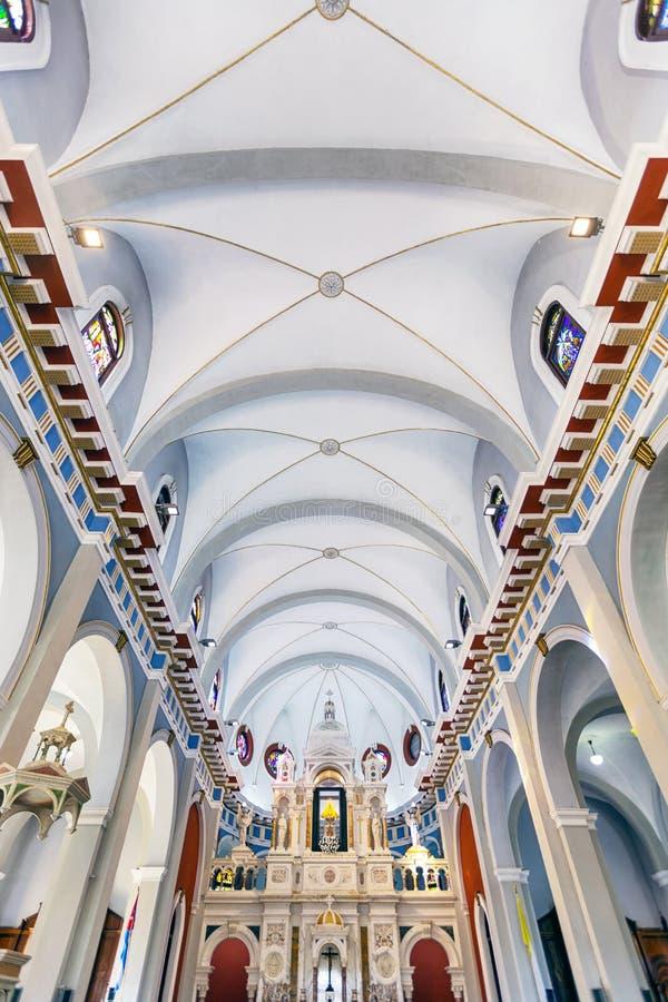 The church of El Cobre in Santiago de Cuba stock images