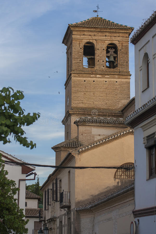 CHURCH OF EL SALVADOR royalty free stock photography