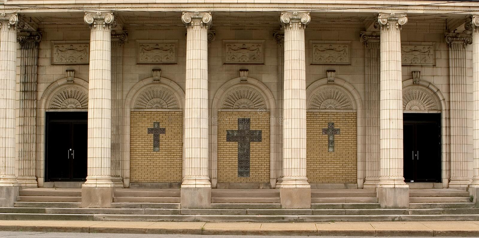 Download Church entrance stock image. Image of entrance, stairs, church - 10445