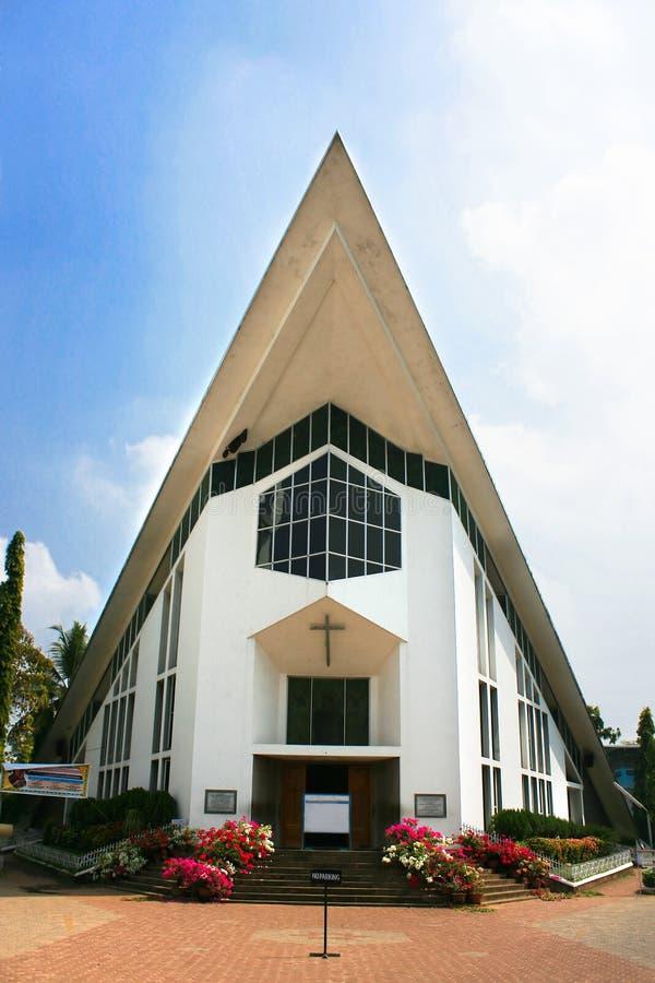 Church in Ernakulam, Cochin India. Catholic Church in Ernakulam,Cochin ,Kerala, Southern India royalty free stock photos