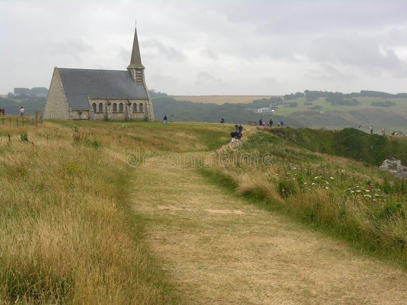Church of Etrenat (France) royalty free stock photos