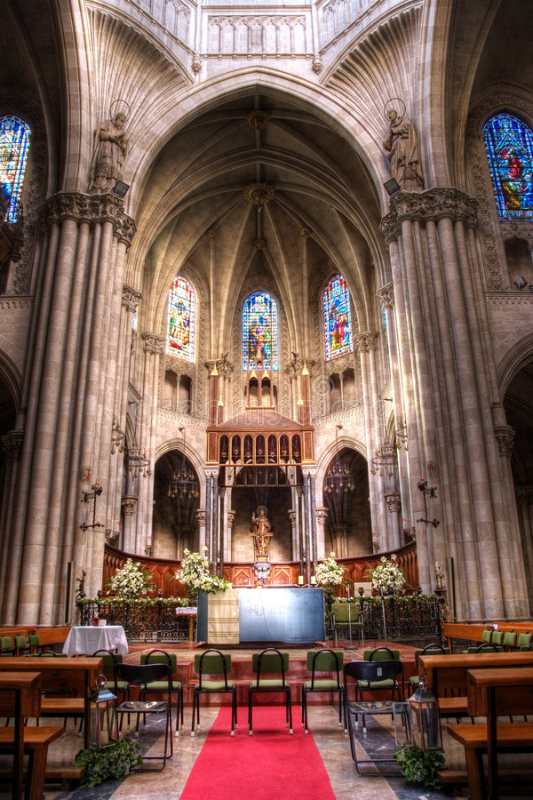 Download Church in Europe stock image. Image of architecture, seating - 9225393