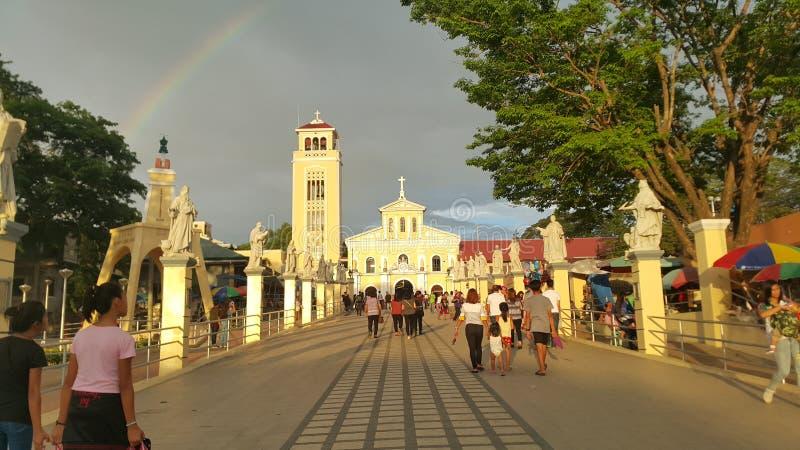 Manaoag Church royalty free stock photo