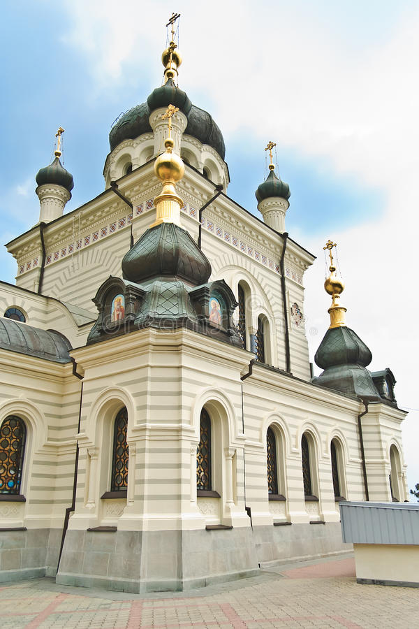 Download Church in Foros stock photo. Image of church, ukraine - 18319150
