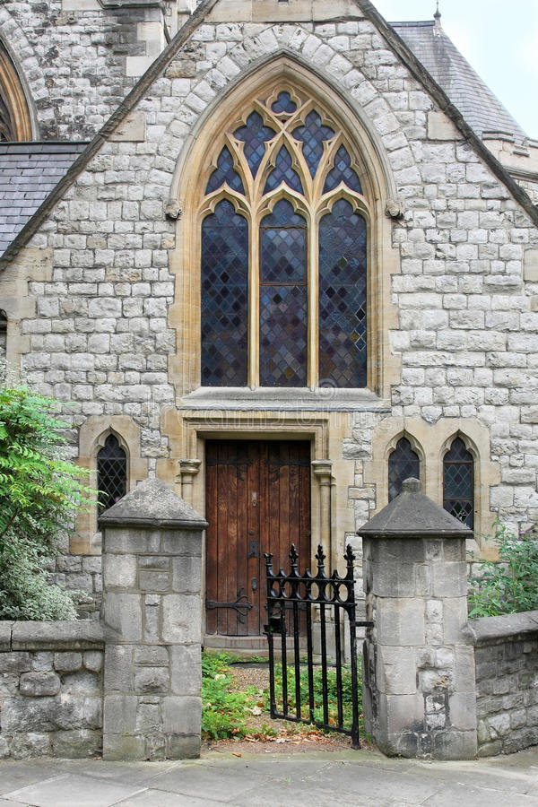 Download Church gate stock image. Image of stone, christian, protestant - 20446495