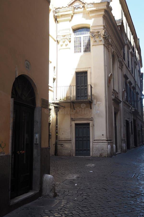 Church of Gesù Nazareno in Rome royalty free stock photos