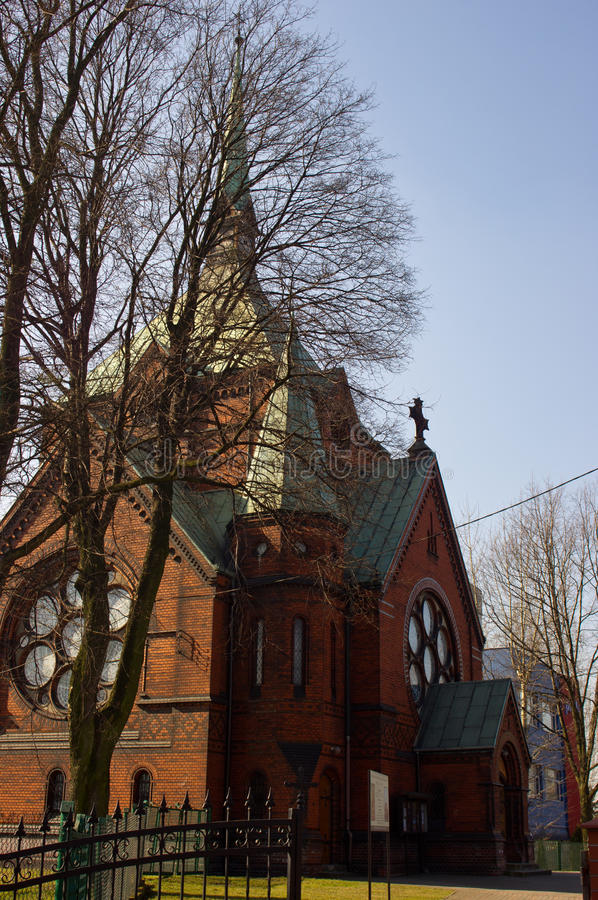 Church in Gliwice royalty free stock photo