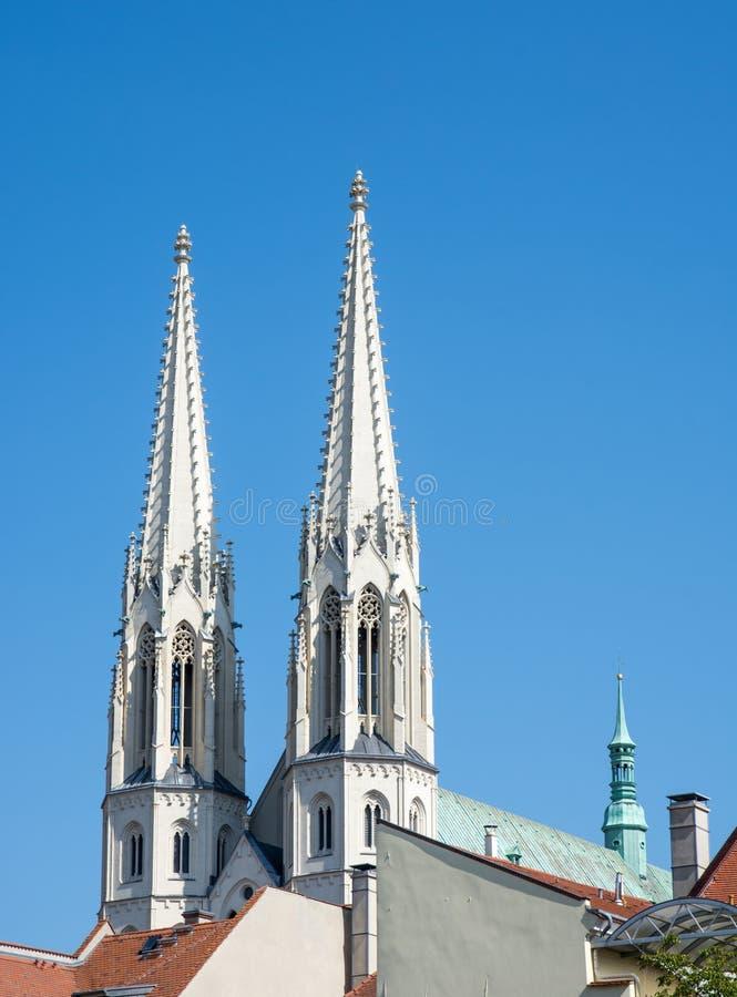Church in Goerlitz stock image