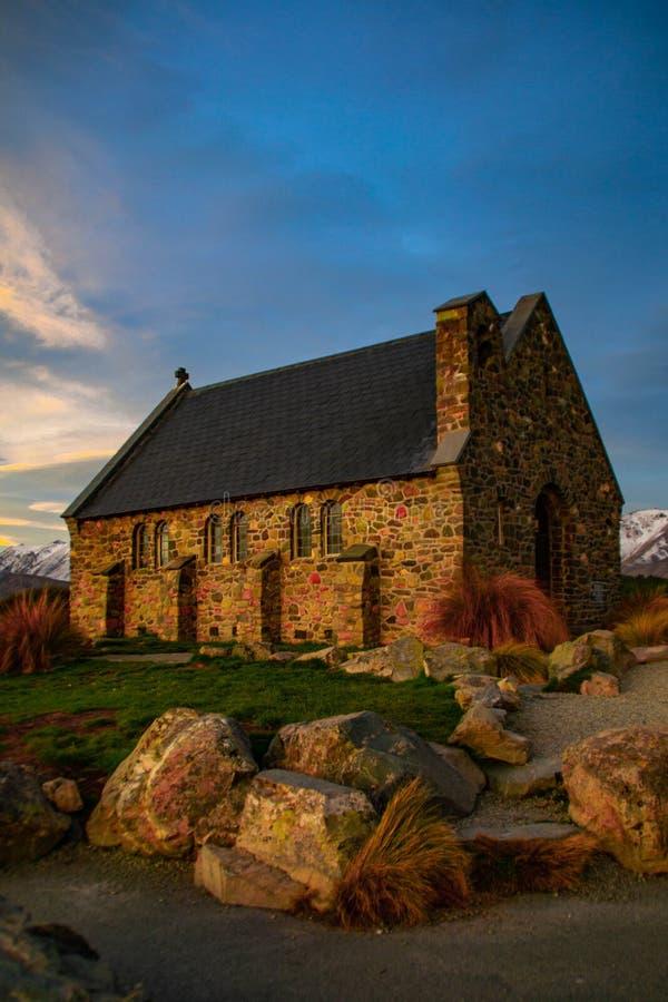 Church of the Good Shepherd, New Zealand royalty free stock photos
