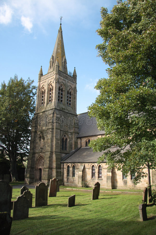 Free Church & Graveyard Stock Photography - 6763832
