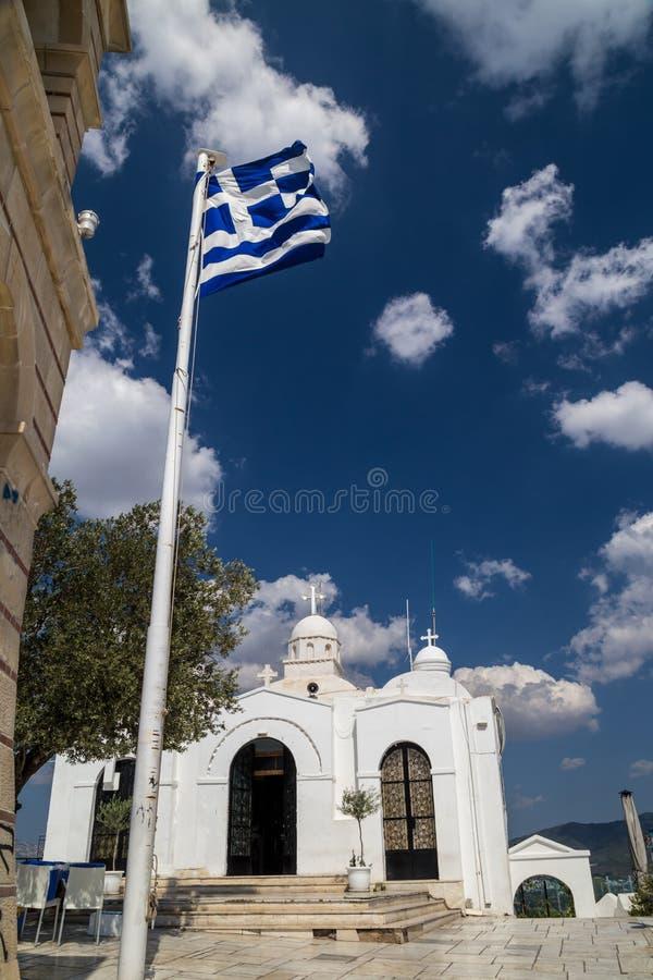 church greek royaltyfria foton
