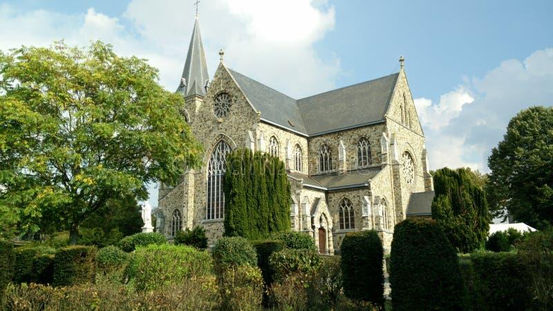 Church in green environment royalty free stock photos