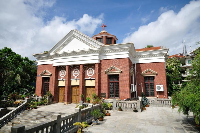 Download Church On The Gulang Island Stock Photo - Image: 24392152