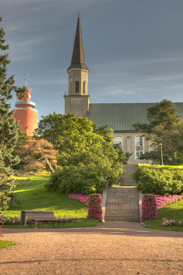 The Church of Hanko stock image
