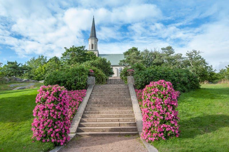 The Church of Hanko royalty free stock image