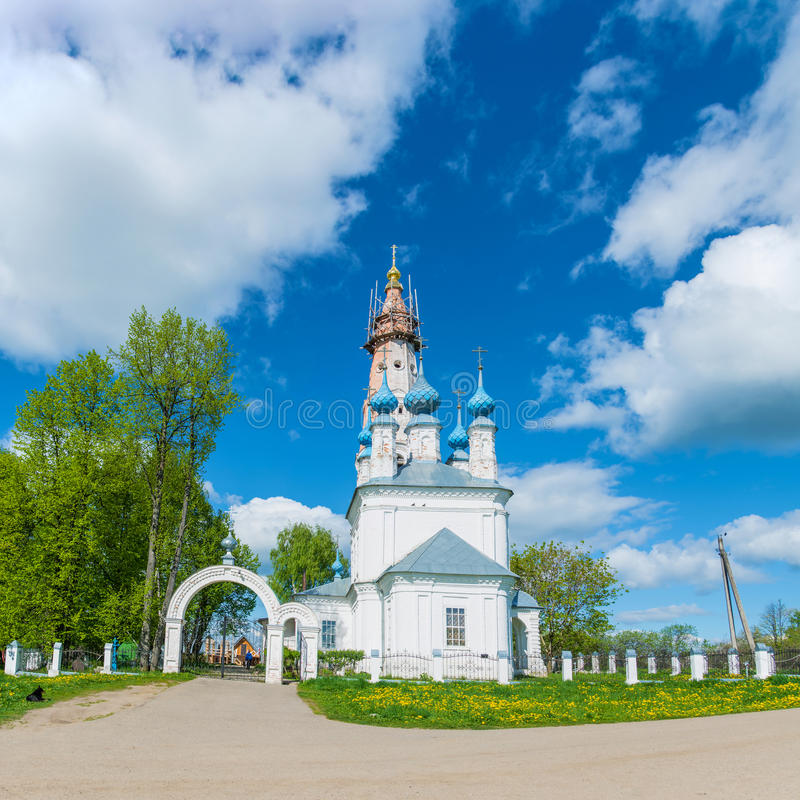 The Church of the Holy Archangel Michael and the bodiless hosts royalty free stock photo