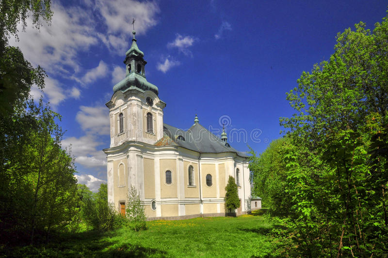 Church of the Holy Archangel Michael stock image