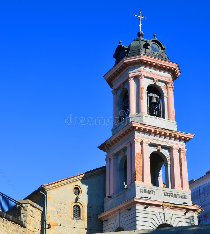 The Church of the Holy Mother of God royalty free stock photos