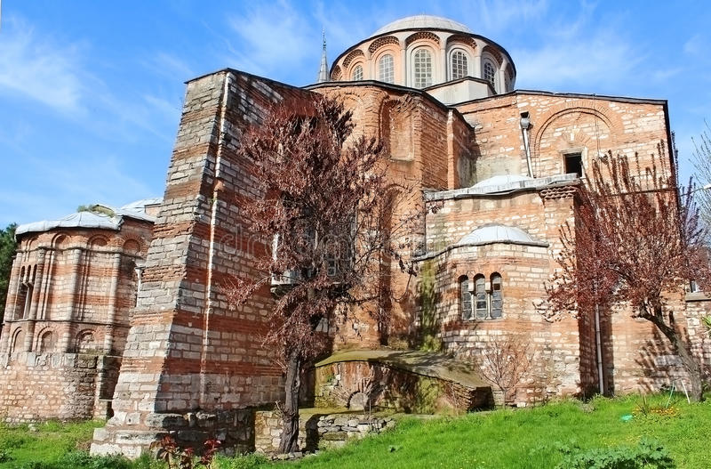 Church of the Holy Savior in Chora royalty free stock photos