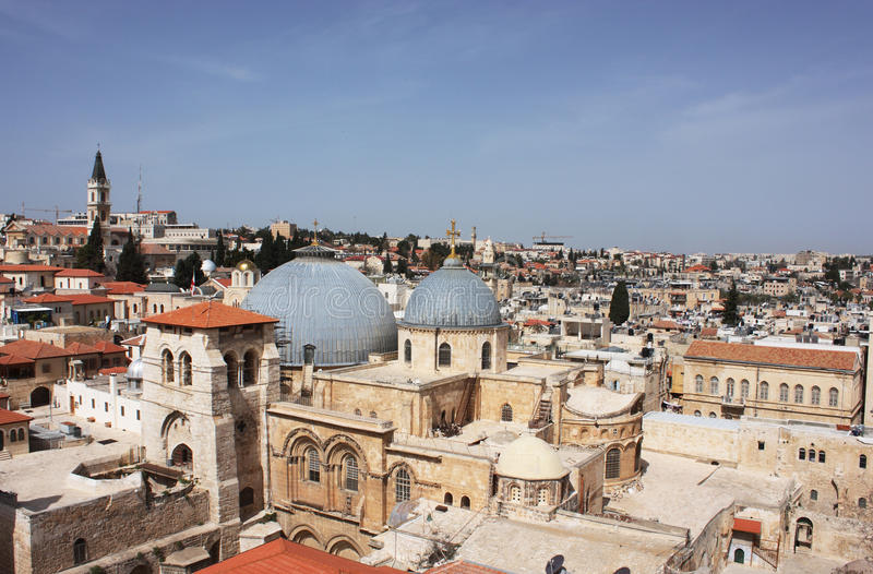 Church of the Holy Sepulcher royalty free stock image