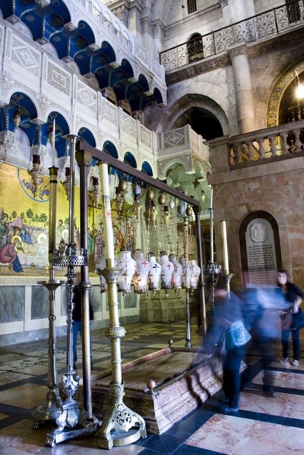 Church of the Holy Sepulchre, Jerusalem stock photo