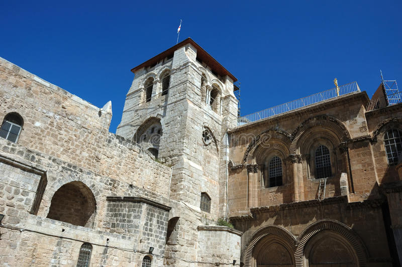 Church of the Holy Sepulchre ,Jerusalem,Israel royalty free stock photography