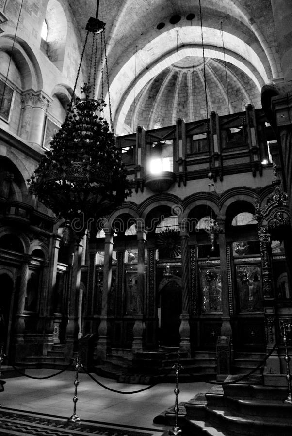 Church of the Holy Sepulchre, Jerusalem stock photography