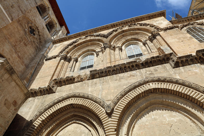 Church of the Holy Sepulchre. Jerusalem stock photos